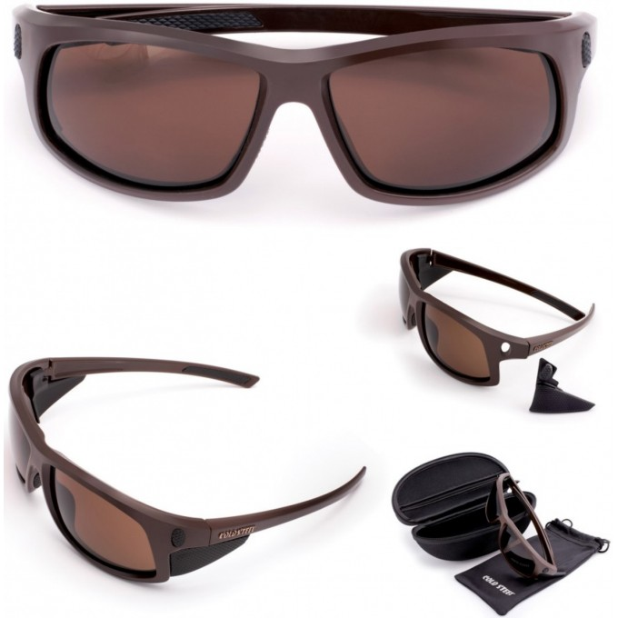 Очки COLD STEEL BATTLE SHADES MK-I MATTE BROWN CS_EW13M