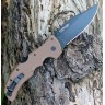 Нож COLD STEEL Recon 1 Clip Dark Earth CS_27TLCVF